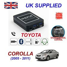 For Corolla Music Streaming Bluetooth Telephone SD AUX CD Digital Module 6+6