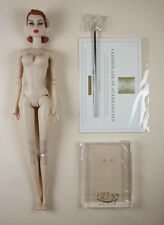 FESTIVE LIGHTS CONSTANCE MADSSEN - NUDE DOLL AND STAND - MINT - EAST 59