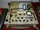 Military TV 7B/U Vintage Tube Tester Works Needs Calibration