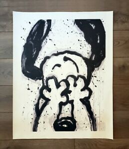"""Snoopy Can't Believe My Eyes Canvas Print 24"""" x 32"""" Tom Everhart"""