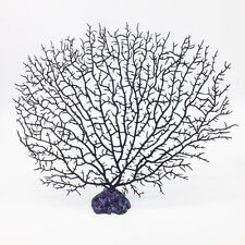 1Pcs Big Black Sea Fan Fish Tank Aquarium Decoration Sea Coral Ornament Natural