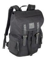 großer Rucksack Canvas - Leder extrem stabil mit Laptopfach für Uni Freizeit-Top