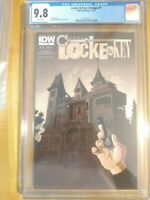 Locke and Key Omega #1 CGC 9.8 IDW Hit Netflix Show Hot!!  6 Available. 👀