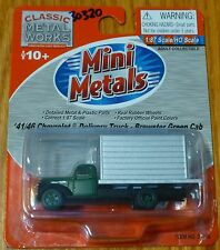 Classic Metal Works #30320 Brewster Green Cab: Chevrolet Delivery Truck 1941/46