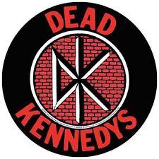 Dead Kennedys Punk 1970u0027s Rock Vintage Style Travel Decal Bumper Sticker Part 84