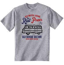 Vintage Británico Morris J2 monovolumen-Nuevo Algodón Camiseta
