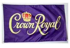 Crown Royal Traditional Flag 3x5ft banner