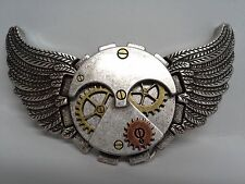 "Flying Time Gear Trophy Buckle 1-3/4"" (44 mm) Tandy Leather 1799-02 Free Ship!"