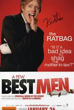 KRIS MARSHALL - Signed 12x8 Photograph - FILM - A FEW BEST MEN