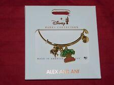 Disney Parks Alex and Ani Animal Kingdom Tree of Life With Lion Gold Bracelet