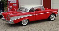 1957 Chevy Chevrolet Built Vintage 25 Car 1 24 Carousel Red 12 Model 18 1955