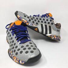 Adidas Barricade Wall Pack 2015 Shoes Mens Sz 8.5 Purple Orange Gray Berlin