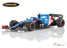 Alpine A521 Renault F1 13° Bahrain GP 2021 Esteban Ocon, Spark 1:18, 18S581