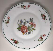 Lot62:6 Pequeñas Platos Planas Vintage Arcopal Francia. 19,5CM Decoración Flor