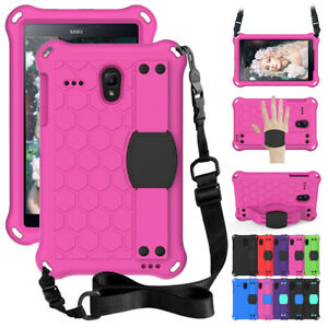 For Samsung Galaxy Tab A E 8'' T380 T387 T377 Handle Strap Stand Foam Case Cover