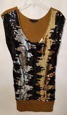 BCBG By Max Azria Sequin Dress Size Medium