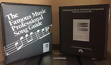Movie & TV Famous Music Publishing Companies Professional Song Guide 12 CDs Vo 1