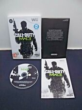 CALL OF DUTY MW3 MODERN WARFACE 3 + Notice Jeu sur Wii compatible Wii U  PAL FR