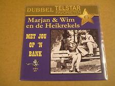 45T SINGLE DUBBEL TELSTAR FAVORIETEN 6 / MARJAN & WIM & MARGRIET EN HEIKREKELS