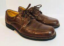 Sandro Moscoloni Brown Leather Oxfords Men's 8 EEE Extra Wide Made in Brazil