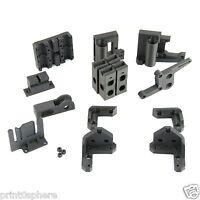 Prusa i3 Rework Plastic Parts Kit ABS reprap 3d printer printed parts