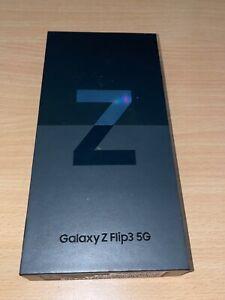 "Samsung Galaxy Z Flip3 5G (2021) - ""SM-F711B"" - 128GB - Phantom Black NEU/OVP"