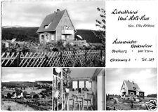 """AK, Hahnenklee - Bockswiese, Landhaus """"Uns' Holt-Hus"""", vier Abb., 1961"""
