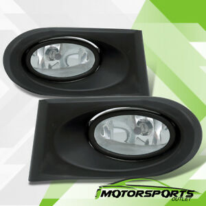 2002 2003 2004 Acura RSX Clear Lens Front Fog Lights Driving Lamps Pair