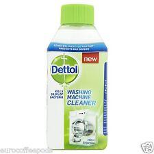 3 x Dettol Washing Machine Cleaner 250ml Sanitizing Formula Eliminates Odours