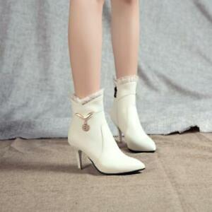 Fashion Women High Heel Stilettos Pointy Toe Office Work OL 34/48 Pumps Party D