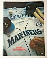1993 Seattle Mariners Kingdome SCORECARD Toronto Blue Jays visiting