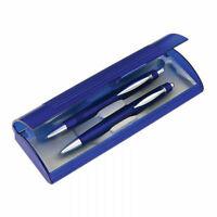 2-teilig Schreibset Kugelschreiber und Druckbleistift im Etui Bleistift Kuli