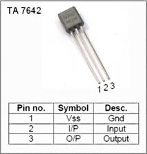 TA7642 Sostituisce mk484 zn414 zn484 AM radio circuit 2 pezzi