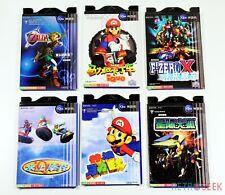 Set 6 x Manuals Nintendo 64 iQue Game Zelda Mario F-Zero etc. Chinese Version GC