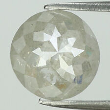 0.76 Ct Natural Loose Diamond Grey Color Round Rose Cut I3 Clarity 6.30 MM L8107