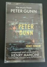 THE MUSIC FROM PETER GUNN Composed by Henfy Mancini NBC TV Series Cassette