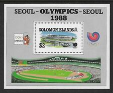 1988 Seoul Olympics Mini sheet Complete MUH/MNH as issued