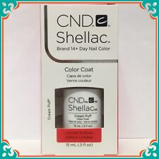 CND Shellac GEL Polish Cream Puff 0.5oz