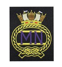 Merchant Navy Blazer Badge Embroidered MN R1821