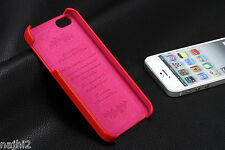 iPhone 5s/5  Schutzhülle  Leder  Hot Rot Stylish  Cover Back Case
