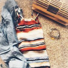 Womens Chiffon Casual Tank Loose Summer Tops Shirt Size M