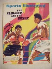 JOE FRAZIER signed 1971 Sports Illustrated boxing magazine AUTO Autographed ALI