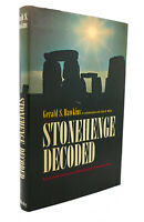 Gerald S. Hawkins & John B. White STONEHENGE DECODED  1st Edition Early Printing