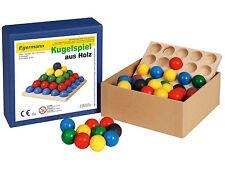 Steckspiel Kugelspiel Holzkugelspiel 12 x 12 Steckspiele von Egermann