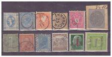 Lotto Antichi francobolli Italiani usati