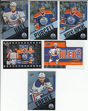 2015/16 Tim Hortons Edmonton Oilers 6 cards Eberle Hall Nugent-Hopkins Purcell
