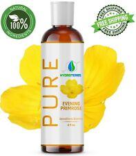 Evening Primrose Oil 4 oz. Cold Pressed 100% Pure Natural Organic Refined