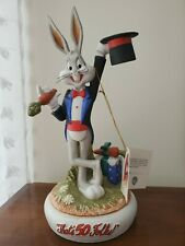 Bugs Bunny 50Th Anniversary Limited Edition Porcelain Statue 1465/5000 Wb 1990