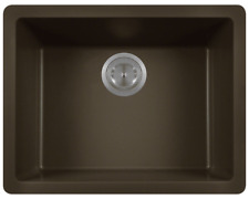 808-Mocha Single Bowl Composite Granite Sink