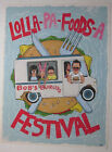Lolla-Pa-Foods-A Feastival Bob's Burger's Numbered Print # 68 / 250 With COA